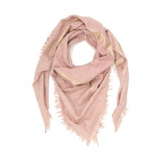 Sqaure Cotton + Bamboo Scarf (Cantaloupe)